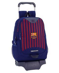 Ghiozdan 665 cu troler FC Barcelona 1st Kit 18-19,33x15x43 cm