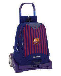 Ghiozdan 665 cu troler Evolution FC Barcelona 1st Kit 18-19,33x15x43 cm