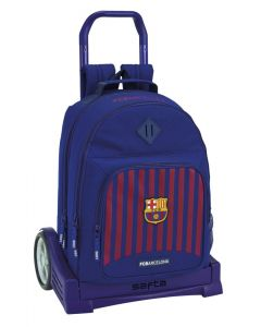 Ghiozdan cu troler Evolution FC Barcelona 1st Kit 18-19,33x15x43 cm