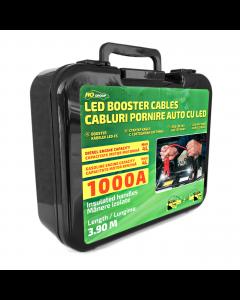Cabluri pornire auto RoGroup cu LED integrat 1000A