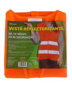 Vesta reflectorizanta portocalie RoGroup