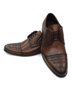 Pantofi eleganti barbati 7411 Culoare-Negru, Maro, Grena
