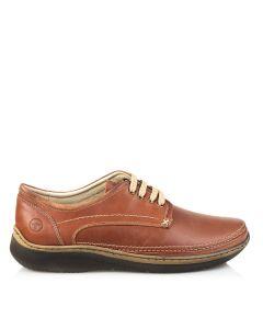 Pantofi casual barbati, piele naturala, G-969, Culoare- Negru, Maro