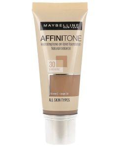Fond de ten Affinitone Maybelline New York, 30 Sand Beige, 30ml