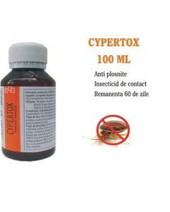 Contra plosnitelor cu efect de soc si remanenta 60 de zile - Cypertox 100 ml