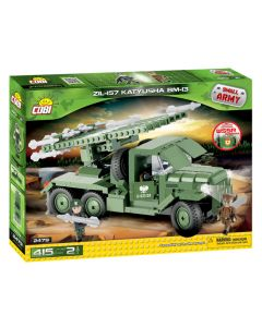 Set De Constructie Cobi, Small Army, Masina militara Zil157 Katyusha BM13(415piese, 2fig)