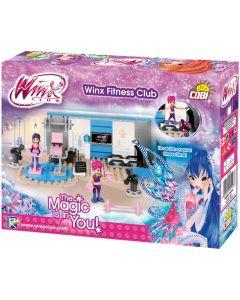 Set de construit Cobi, Winx, Clubul de fitness Winx (140pcs, 2fig)