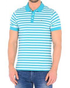 Tricou tommy hilfiger denim thdm basic polo stripe - 2xl