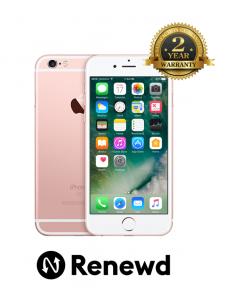 Telefon mobil Apple iPhone 6S 64GB Rose Gold Renewd