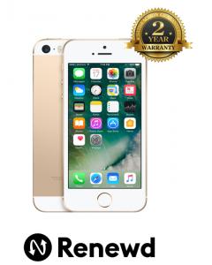 Telefon mobil Apple IPhone SE 64GB Gold Renewd