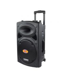 Boxa  Portabila Activa 350W 12 Inch Temeisheng LA-012, Troller, Wireless, Bluetooth, Acumulator, Usb, Mp3