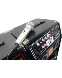 Set 2 Boxe active , USB-Bluetooth , 300 W , Adaptor Bluetooth Cadou ,  Microfon Cadou