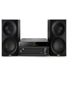Sistem AKAI Audio digital ,FM Tuner , CD Player , Mp3 , conectare prin Bluetooth , Port USB , AC 100-240V - 50/60 Hz , Iesire RCA Audio , Culoare Negru