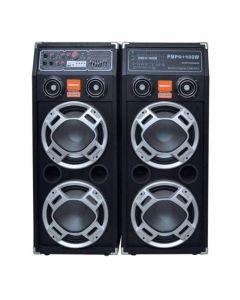 Set  2 Boxe audio  Cu  Statie  ,  Bluetooth / USB/SD  , 2 x 300 W ,FM