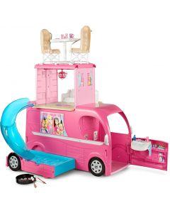 Set Mattel - rulota lui Barbie si accesorii