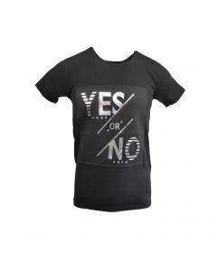 "Tricou Scarface - negru cu efect 3D ""YES or NO"" - M"