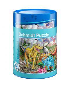 Puzzle Schmidt pentru copii 100 piese: Dinozauri