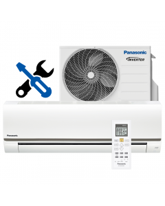 Aer conditionat Panasonic BE25TKE Wi-Fi Ready, Inverter, 9000 BTU/h, R410a, Clasa A+, BMS Conectivity, Kit Instalare 3 ml - Montaj Gratuit (Bucuresti - Ilfov)