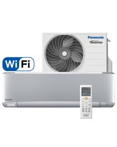 Aer conditionat Panasonic XZ25TKE Etherea Silver, Wi-Fi, Inverter Plus, 9000 BTU/h, R32, Clasa A+++, Econavi, Humidity Control