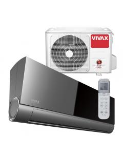 Aer conditionat Vivax ACP-12CH35AEVI BLACK MIRROR V-Design Wi-Fi Ready, Inverter, 12000 BTU/h, Clasa A++, Ionizator, I feel, 3D Airflow, Protectie Anti-Inghet, Autodiagnoza, Autocuratare, Autodetectie scurgeri freon, filtru Bio, filtru Anti-Praf