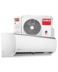 Aer conditionat Vivax ACP-09CH25AEQI Q-Design R32, Inverter, 9000 BTU/h, Clasa A++, ecran LCD, Pornire silentioasa, Sleep mode, Turbo mode, Timer, Protectie Anti-Inghet, Autocuratare, ECO-Mode