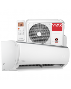 Aer conditionat Vivax ACP-18CH50AEQI Q-Design R32, Inverter, 18000 BTU/h, Clasa A++, ecran LCD, Pornire silentioasa, Sleep mode, Turbo mode, Timer, Protectie Anti-Inghet, Autocuratare, ECO-Mode