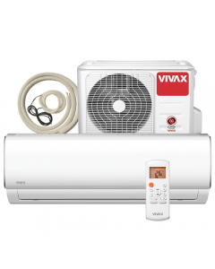 Aer conditionat Vivax ACP‐12CH35AEMI M-Design Wi-Fi Ready, Kit de instalare inclus, Inverter, 12000 BTU/h, Clasa A++, ecran LCD, Pornire silentioasa, Sleep mode, Turbo mode, Timer, Protectie Anti-Inghet, Autocuratare, ECO-Mode