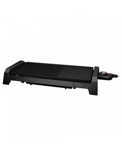 Gratar electric Vivax EG-5025, 2200 W, Incalzire rapida M-Shape, Termostat detasabil, tava curatare retractabila, Suprafata gratar / plita
