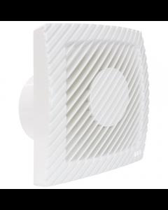 Ventilator axial LUX Serie L100, fabricat in Italia, senzor prezenta, debit 110 mc/h, diametru 100 mm