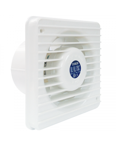 Ventilator axial LUX Serie T120, fabricat in Italia, clapet anti-retur, debit 100 mc/h, diametru 120 mm