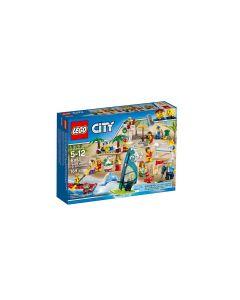 LEGO City Comunitatea orasului, Distractie la plaja 60153