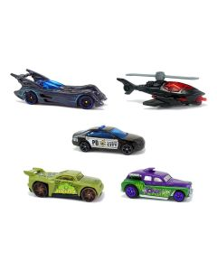 Set 5 masinute Hot Wheels, BATMAN