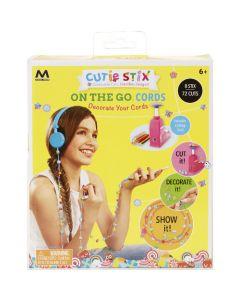 Betisoare colorate Cutie Stix - Set Decorat Casti