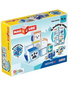 Set Constructie Magnetic Magicube Animale Polare