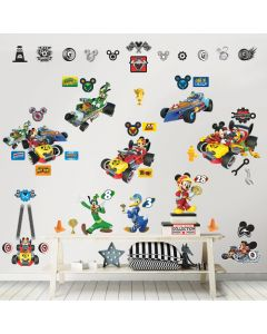 Kit Decor Mickey Mouse Rodster Race