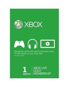 Xbox Live Gold Card Membership ( 1 luna) Xbox One / Xbox 360
