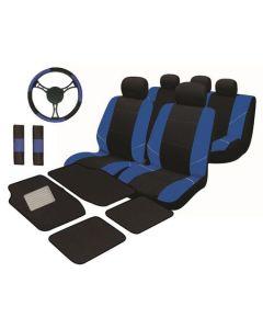 Set huse auto Procar Neo Plus, 16 Piese, Albastru