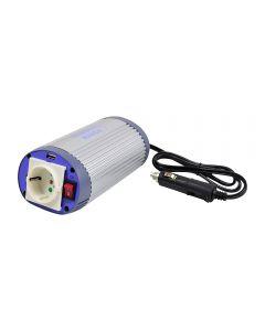 Invertor de tensiune cu USB Albrecht 150W 12V Cod 47871