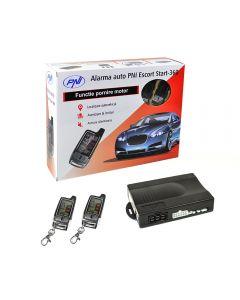 Alarma auto PNI Escort Start 360 cu pager si pornire motor de la distanta