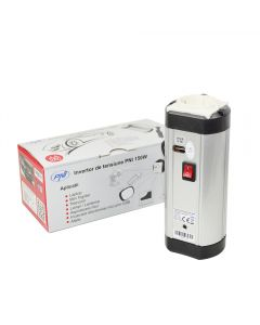 Invertor de tensiune PNI 150W alimentare 12V iesire 220V si USB