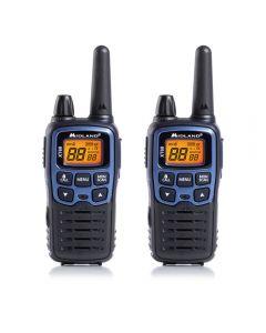 Statie radio PMR/LPD portabila Midland XT60 set cu 2 buc. albastru metalic cod C1179