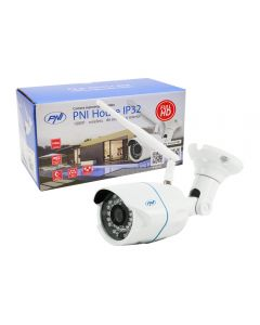 Camera supraveghere video PNI House IP32 2MP 1080P wireless cu IP de exterior si interior si slot microSD