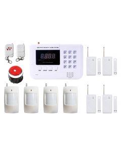 Kit sistem de alarma wireless PNI PG200 si 6 senzori suplimentari