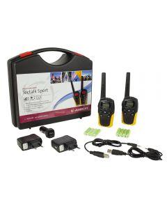 Statie radio PMR portabila Albrecht Tectalk Sport set cu 2buc Cod 29865