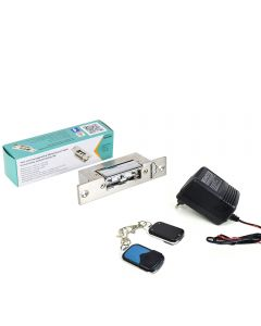 Kit automatizare usi fara fir SilverCloud - alimentator cu 2 telecomenzi AP101 si Yala electromagnetica YS800