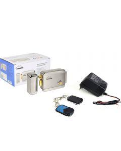Kit automatizare porti fara fir SilverCloud - alimentator cu 2 telecomenzi AP101 si Yala electromagnetica YR300