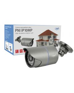 Camera supraveghere video PNI IP10MP 720p cu IP de exterior