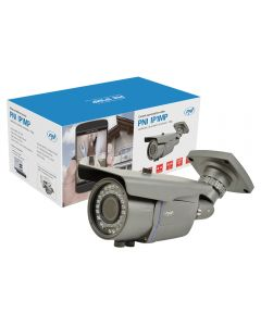 Camera supraveghere video PNI IP1MP 720p cu IP varifocala 2.8 - 12 mm de exterior