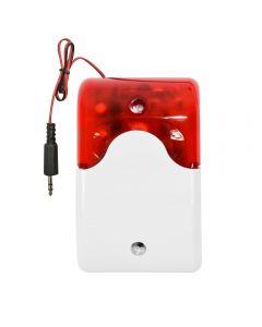 Sirena cu fir PNI A013 pentru sistem de detectie la efractie 110 dB