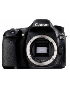 Aparat foto DSLR Canon EOS 80D BK, 24.2 MP, WiFi, Body